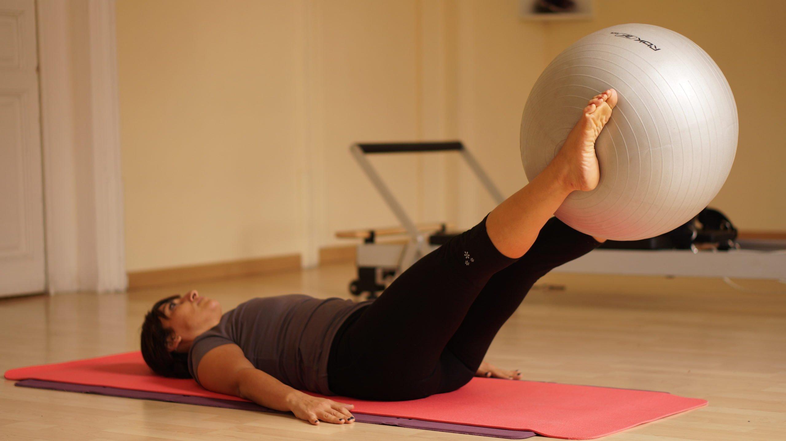pilates with ball barcelona